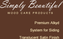 Simply Beautiful Wood Care Products